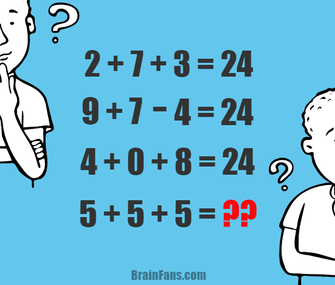 Brain teaser - Number And Math Puzzle - number puzzle with answer - Let's try to solve this number puzzle. It's not one of the hardests, but actually an easier one. Please share how much time you needed to solve this math.