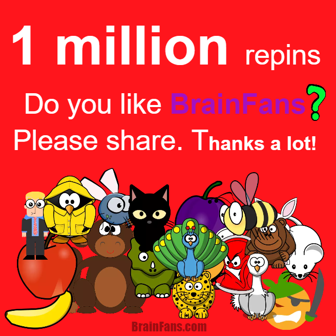 Brain teaser - Number And Math Puzzle - 1 million repins please help us - 1 million repins, can you help us reach the goal? If you like what we have to offer, please do so. We love you!!! :)