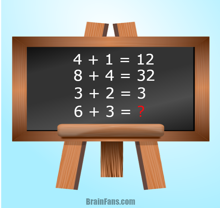 Brain teaser - Number And Math Puzzle - math problem for geniuses - Are you a genius in math? Then this math puzzle could be right for you! Be the first ever to solve this math problem for geniuses and share if you like;)