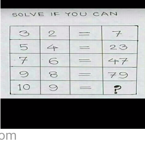 Brain teaser - Number And Math Puzzle - Maths -