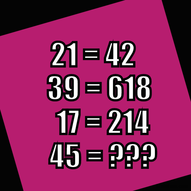 Maths puzzle for with numbers | Number And Math Puzzle