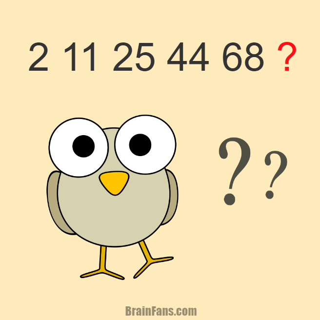 Brain teaser - Number And Math Puzzle - number in the sequence - could you find the next number in the sequence? Have a look at the picture and decide the correct answer for this puzzle. Share it below, thanks :)