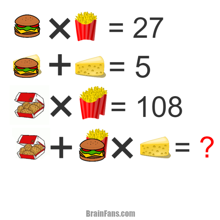 Brain teaser - Picture Logic Puzzle - MC Snack (corrected) - The last one i post have the wrong answer