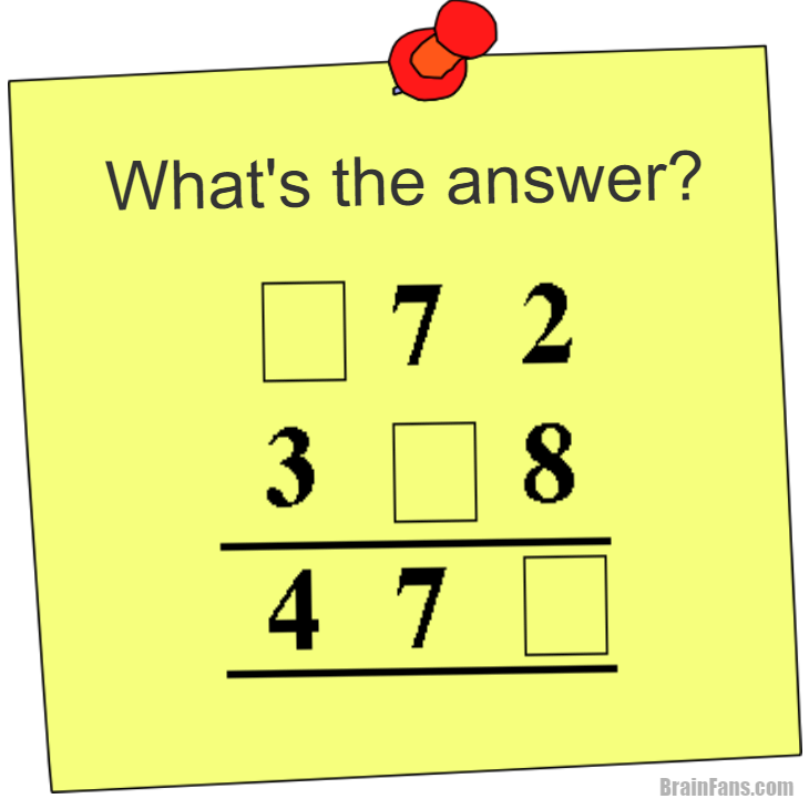 Printable math puzzles and riddles for kids in increasing ...